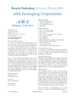 ABA Packaging Corp.