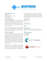 Biotron Laboratories, Inc.