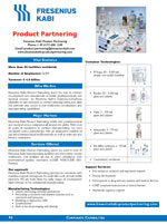 Fresenius Kabi Product Partnering