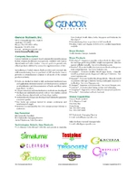 Gencor Nutrients, Inc.
