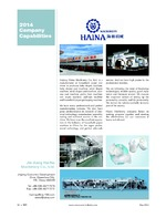 Jin Jiang Hai Na Machinery Co., Ltd.