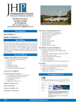 JHP Pharmaceuticals, Inc.