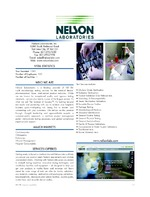 Nelson Laboratories Inc.