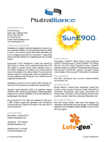Nutralliance, Inc.