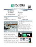 Polymer Conversions, Inc Plastics Technology Center