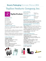 Topline Products Co. Inc.