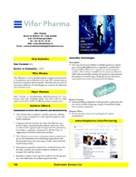 Vifor Pharma - Vifor Ltd.