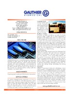 Gauthier Biomedical Inc.