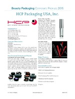 HCP Packaging USA, Inc.