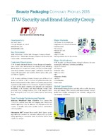 ITW Security and Brand Identity Group