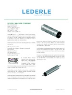 lederle machine company
