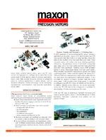 maxon precision motors inc..